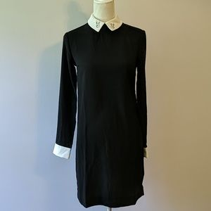 Victoria Beckham bunny collar shift dress